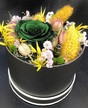 Flower box Emeraude