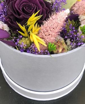 Flower box Améthyste
