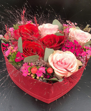 Flower box Amour